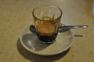 First up is, Cafe Boscanova, from Boscombe, who made me this lovely espresso.