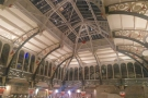 The soaring halls of Manchester's Mackie Mayor, a Victorian market hall, dating from 1857.