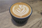 The good news is that the staff were back at Infuse, so time for one last flat white...