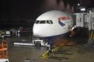 My British Airways Boeing 777-200 at the gate...