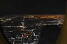 Downtown Chicago's glow to the south contrasts with the more sparsely populated...