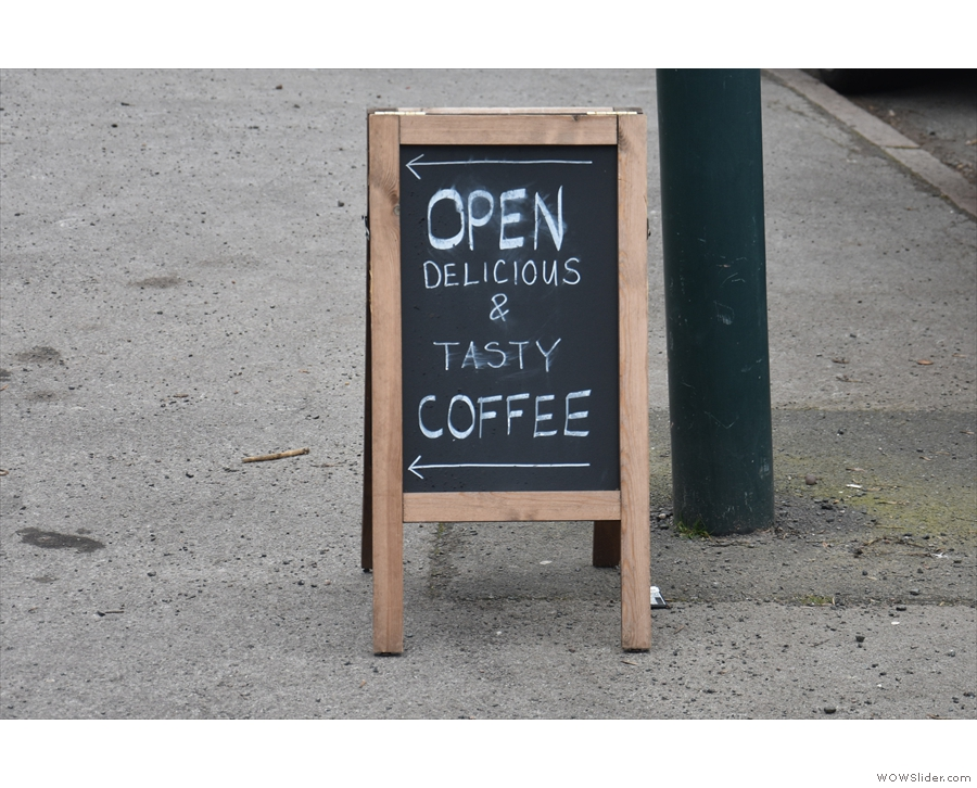 Talking of which, while I like a witty A-board, sometimes direct is best.