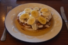 I was there for lunch, having the pancakes from the specials board.