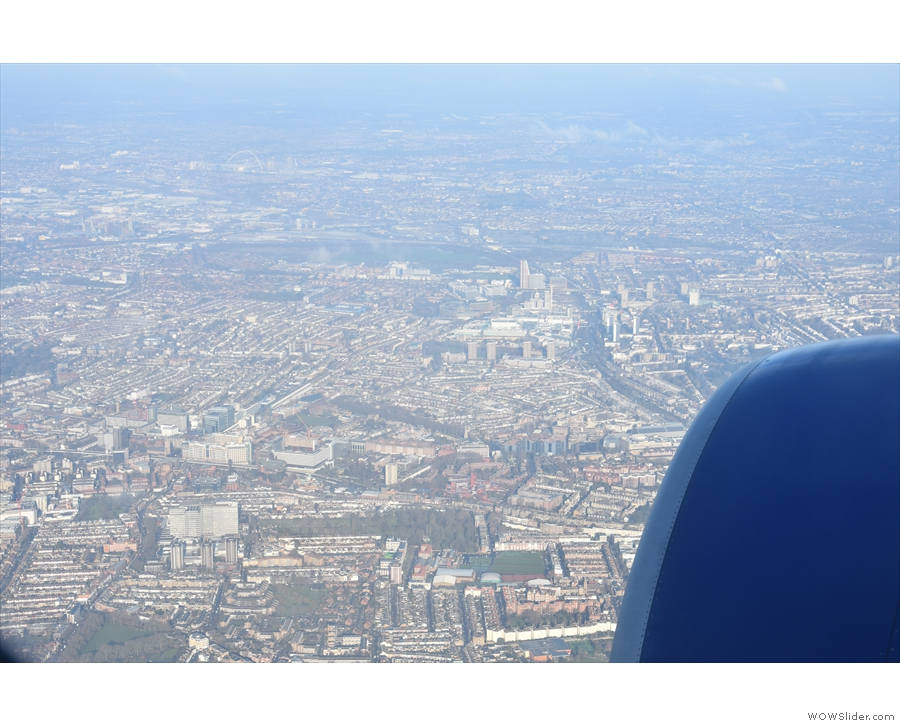 Then we're out over West London and I'm less sure of my landmarks...