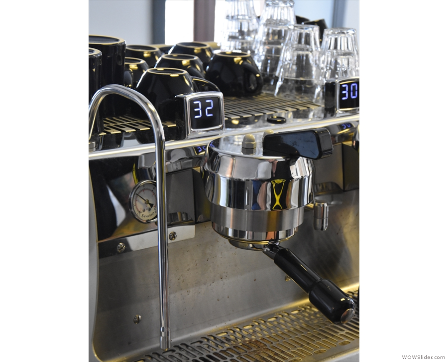 Compared to a typical extraction time of 32 seconds, the single-origin runs more quickly.