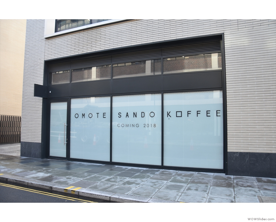 The famous Omotesando Koffee was coming to London!