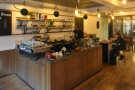 The rest of the coffee bar is much the same: the counter is still there on the left, while...