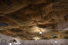 If I had a 'Best Ceiling' Coffee Spot Award, this would win hands down!