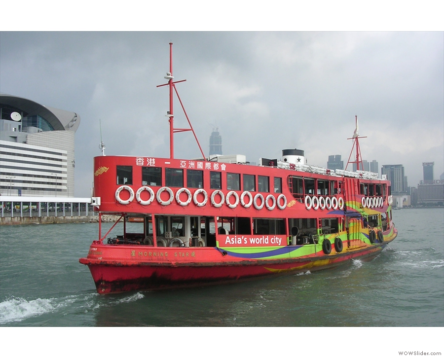 And here's the star (ferry) of the show itself.