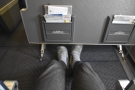 ... extra leg room (although, ironically, these pictures are from my most recent trip!).