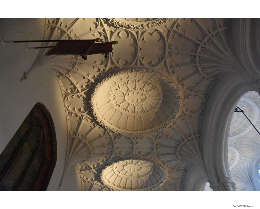 ... so you can better see the intricate nature of the plaster work.