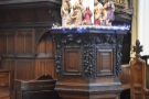 The pulpit (and the organ behind it) are also pretty neat.