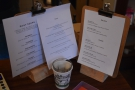 All of this is reflected in the menus, where there are now breakfast and lunch options.