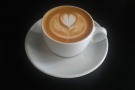 I also had a lovely flat white...
