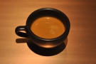 % Arabica is disposable cups only, so don't forget to bring your own. Here's my coffee...
