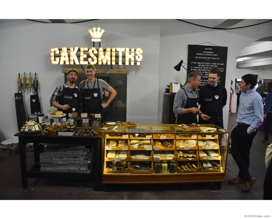 Next is the Shoreditch zone, home to Cakesmiths, perennial feeders of the Coffee Spot.