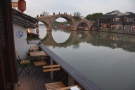 ... to the famous Fangsheng Bridge and its five stone arches.