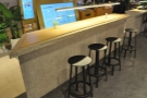 ... are two of these long, thin counter-top seating units.