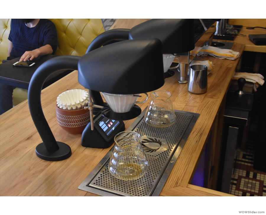 ... tea since the pour-over is done by the Seraphim automated system.