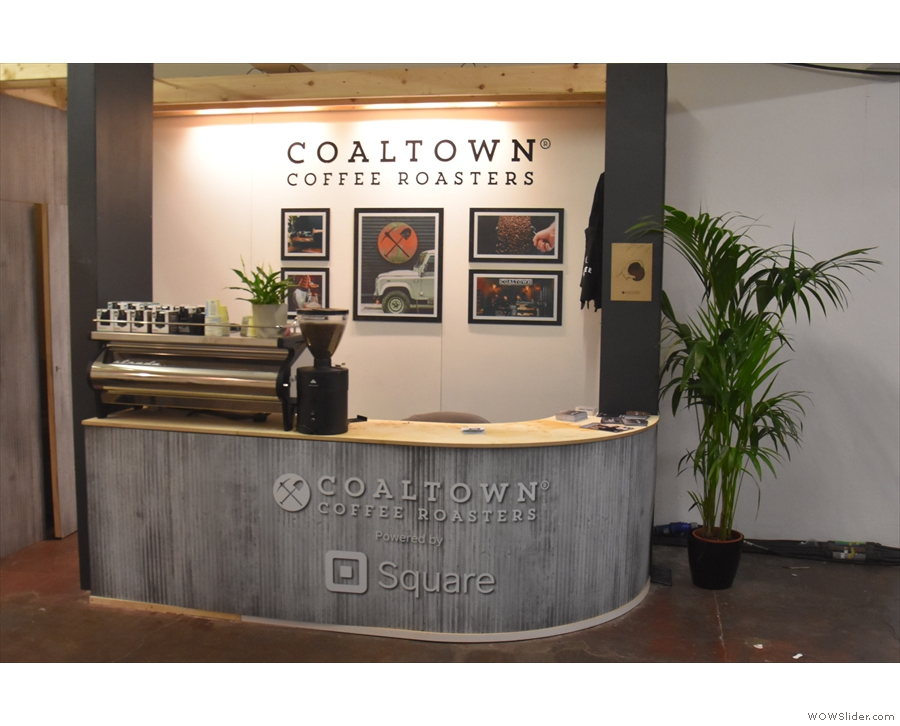 Let's start with Coaltown Coffee Roasters, caught here during a rare, quiet moment...