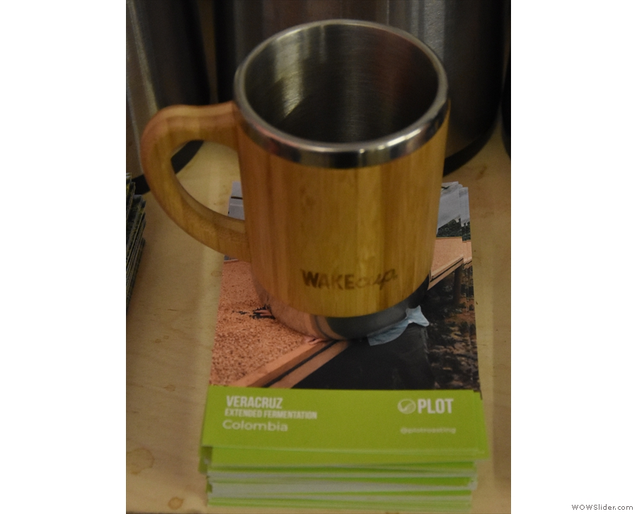 I tried the extended fermentation Veracruz from Colombia in my Global WAKEcup.