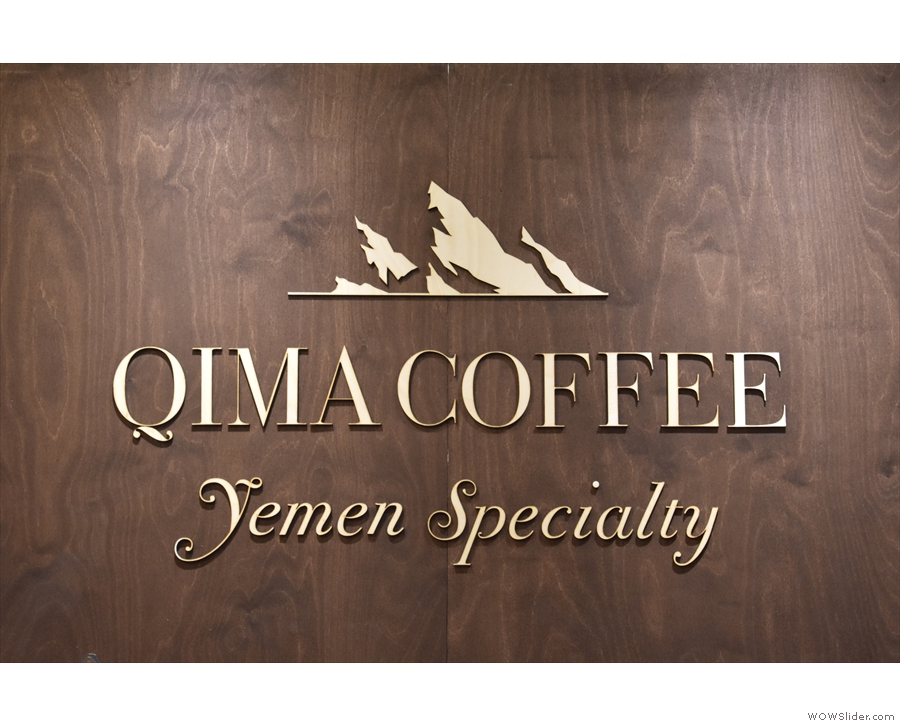 Specifically, it's Qima Coffee, an importer/roaster, working directly with Yemini farmers.