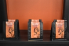 Taylors had three new coffees on display, in some stunning new packaging.