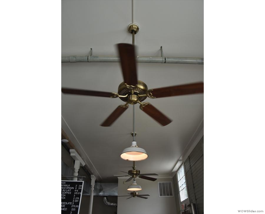 ... ceiling fans!