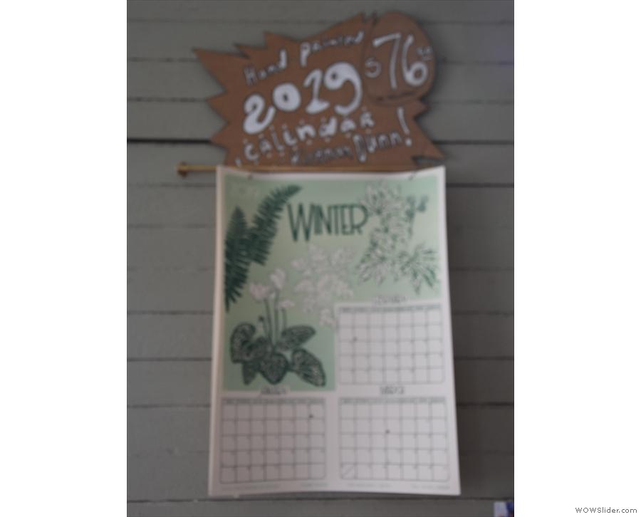 Nice calendar.