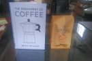 I was so impressed that I swapped a copy of my book for a bag of the coffee!
