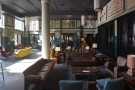 ... to take your coffee through here too, where there are plenty of sofas and armchairs.