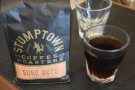 Then they made me a sample of a natural Ethiopian single-origin.