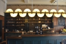... while I was particularly taken by the lighting structure above the counter.