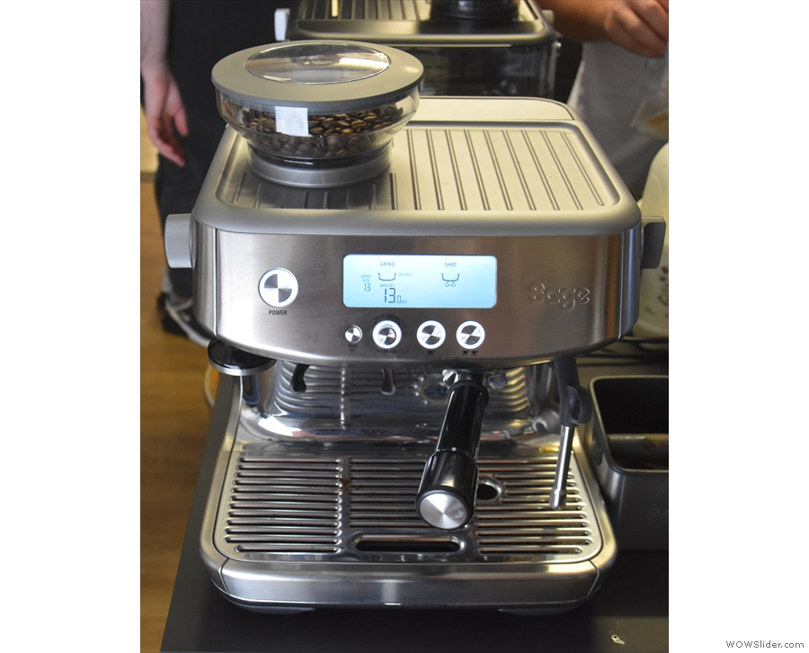 Introducing the new Sage Barista Pro, the latest addition to its espresso machine range.