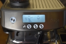 ...and here's the Barista Pro, a large LCD screen replacing the pressure gauge and lights.