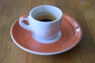 ... and the espresso itself (the single-origin Kunjin from Papua New Guinea)...