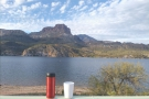 First stop along the way: Apache Lake on Highway 88 through the Superstition Mountains.