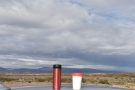 Day 2 and my coffee and I am on Highway 78. There are mountains to the left of us...