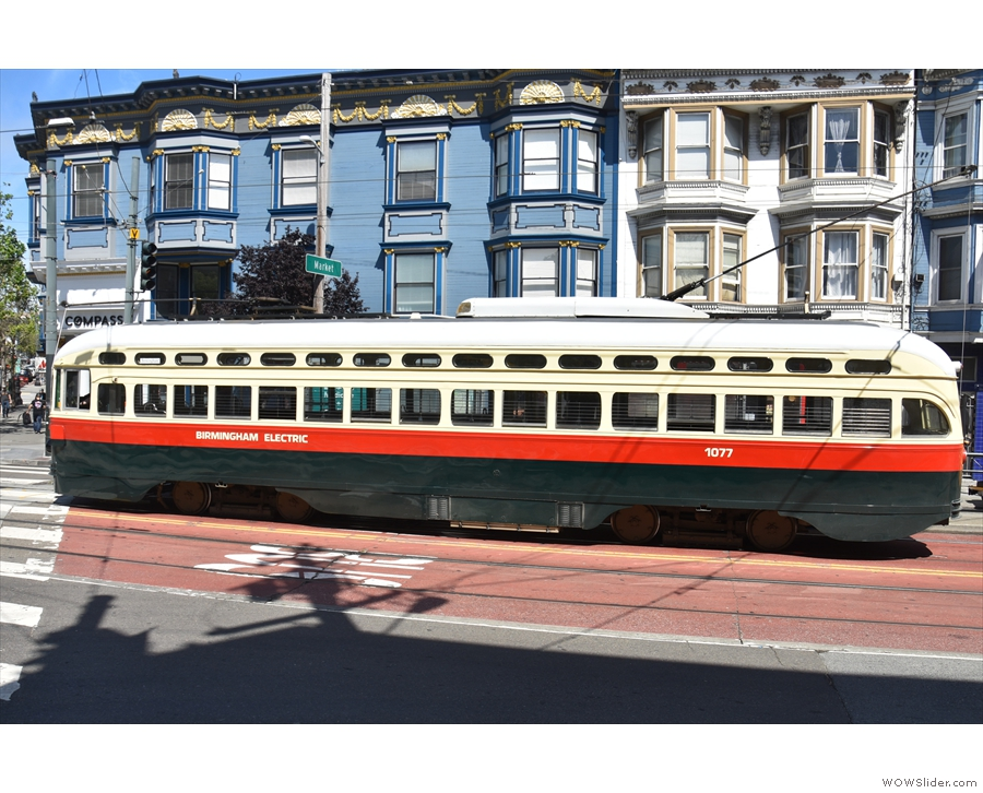 Meanwhile, out on Church Street, you'll find the J Line, which also runs vintage...