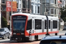 The J Line has more modern streetcars as well.