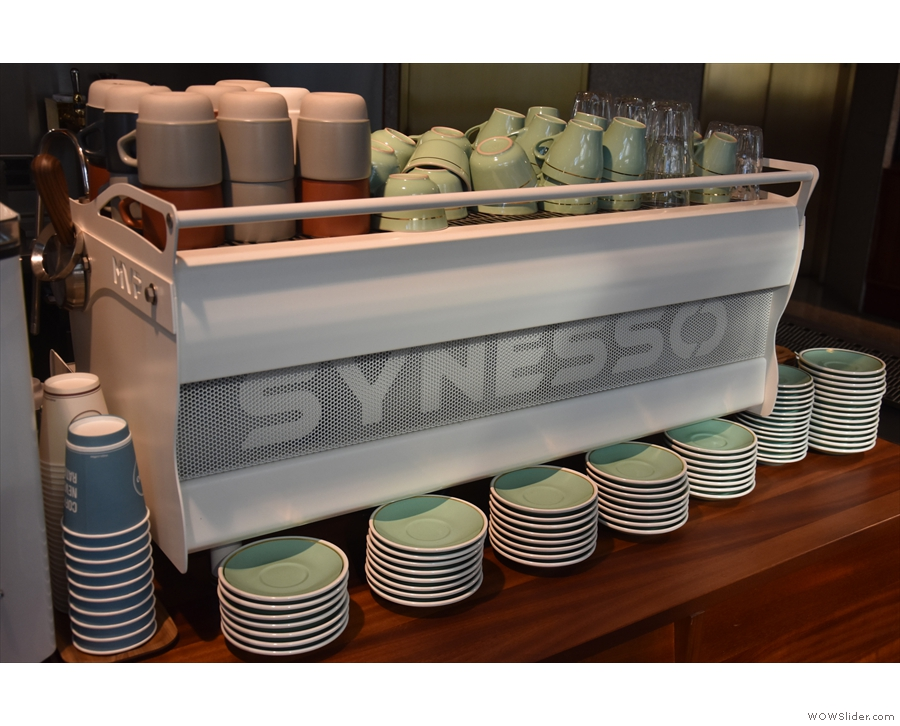 A Synesso espresso machine is always worth a second look!