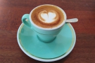 ... but I decided to have a piccolo instead, served in an espresso cup.