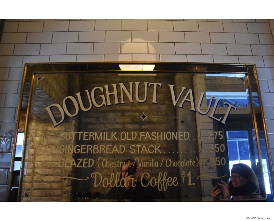 And this is what it's all about: douhgnuts!