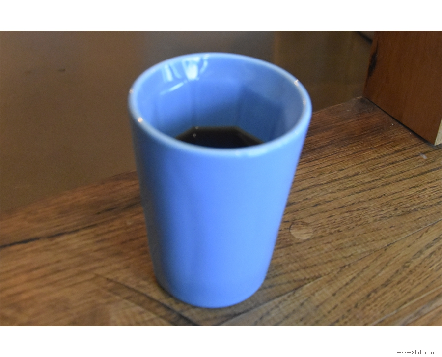 ... and seen here in my Therma Cup which is where I'll leave you.