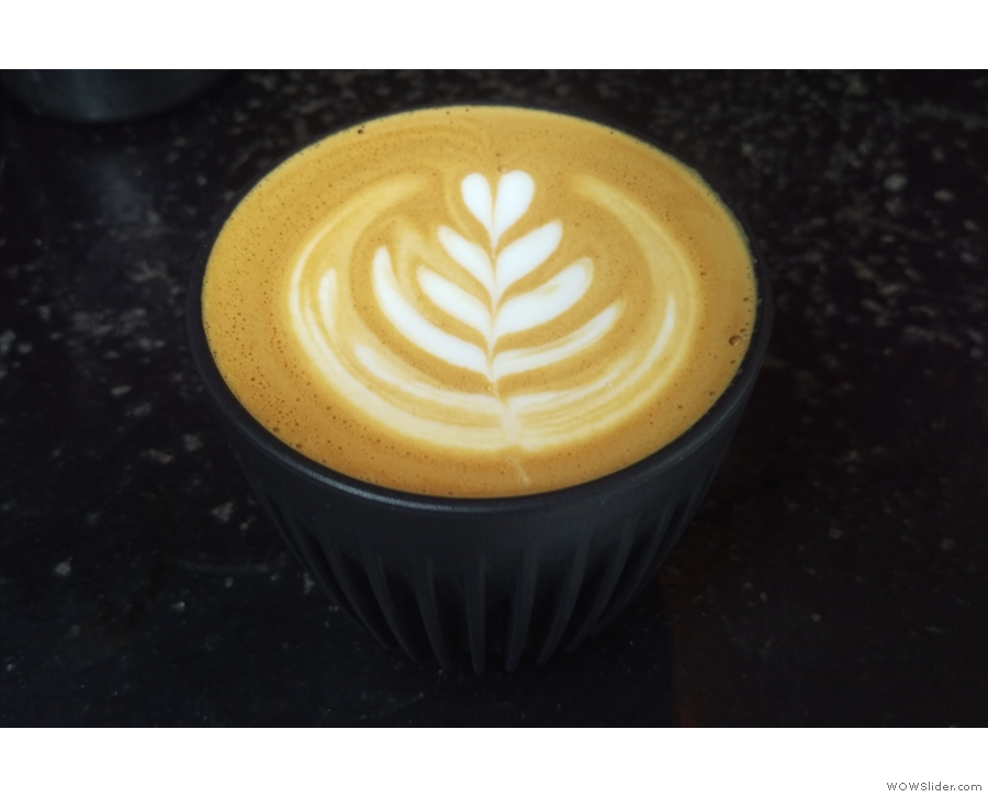I was there most days for a flat white in my HuskeeCup.