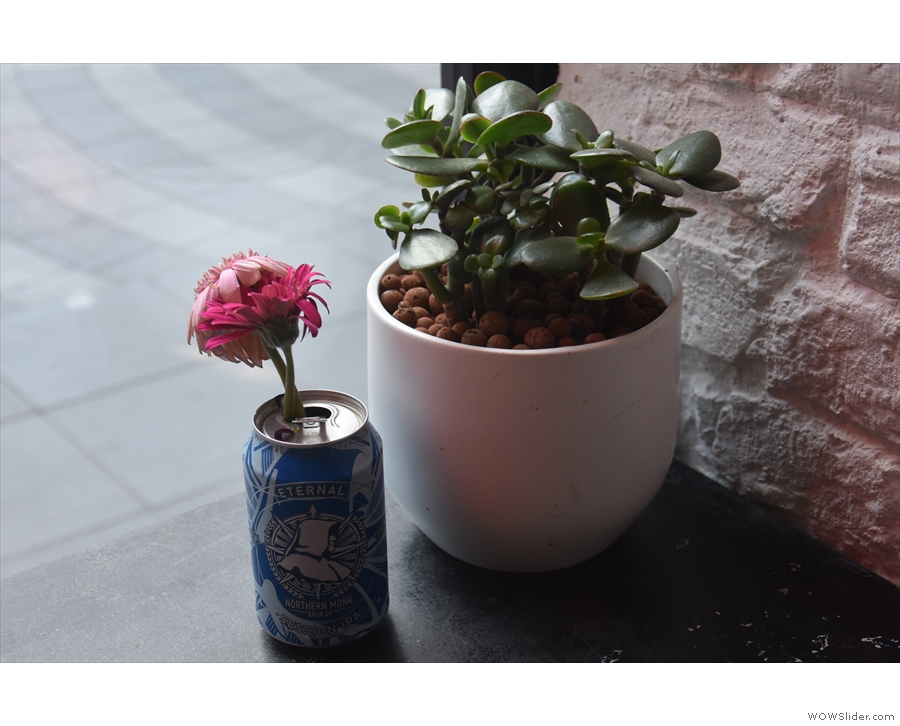 ... and some neat reuse of old cans.