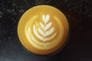 Lovely latte art in this one!