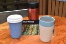 ... to go hiking in Muir Woods. This time both my Therma Cup and new rCup came along.