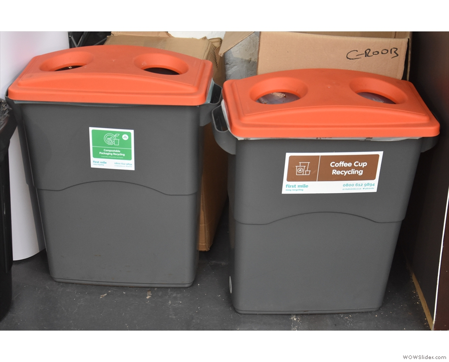... recycling this year, with all cups being recycled along with most other waste.