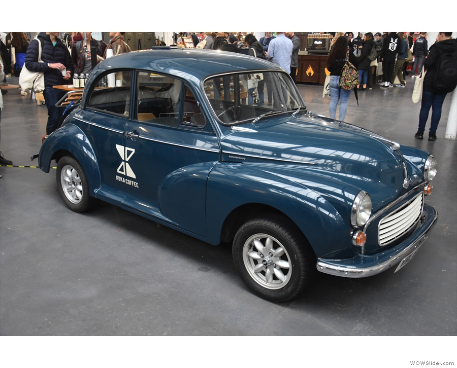 Not all the stands were stands, by the way. This one was a Morris Minor...